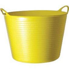 Red Gorilla Flexible Large Tub - Yellow